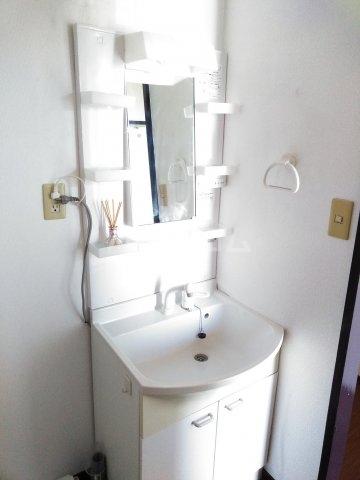 サニーヒルマンション 404号室の洗面所