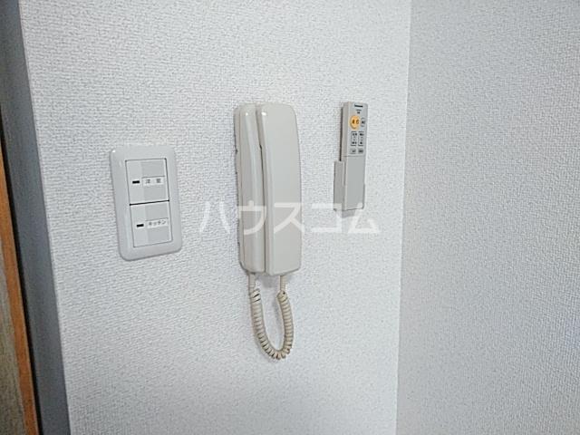 ピュアメゾン 2-E号室のセキュリティ