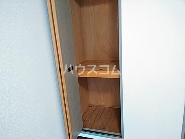 ピュアメゾン 2-E号室の収納