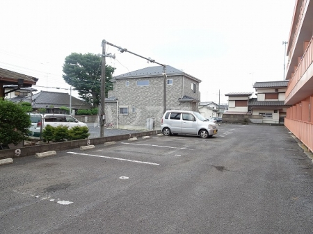 プレリ西大島 207号室の駐車場