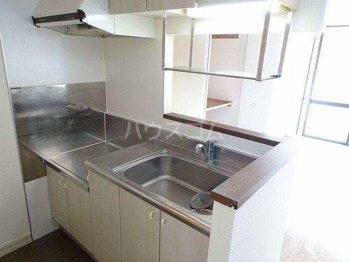ローズヒルズマミ 205号室のキッチン