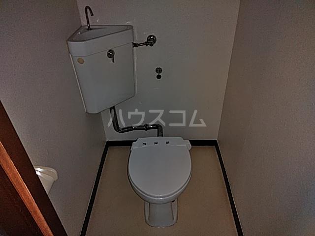 今里ハイツ 202号室のトイレ