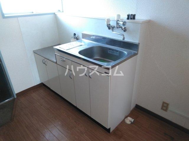 ウィルA 203号室のキッチン