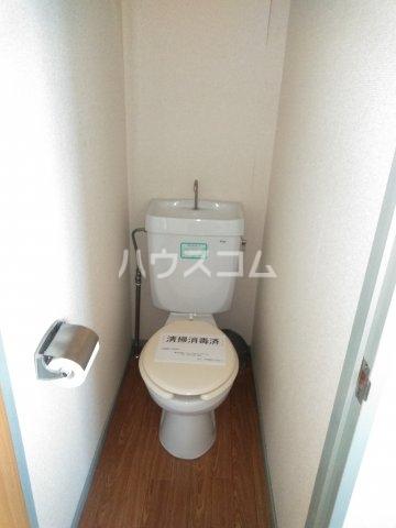 ウィルA 203号室のトイレ