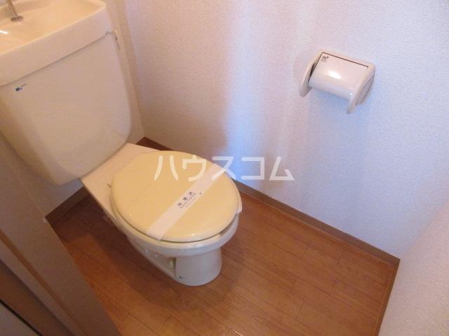 レジデンス住谷D棟 207号室のトイレ