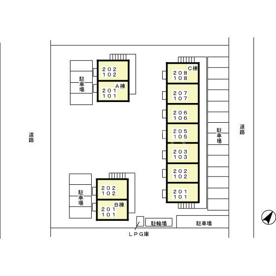 メゾン グラフォートB 101号室のその他