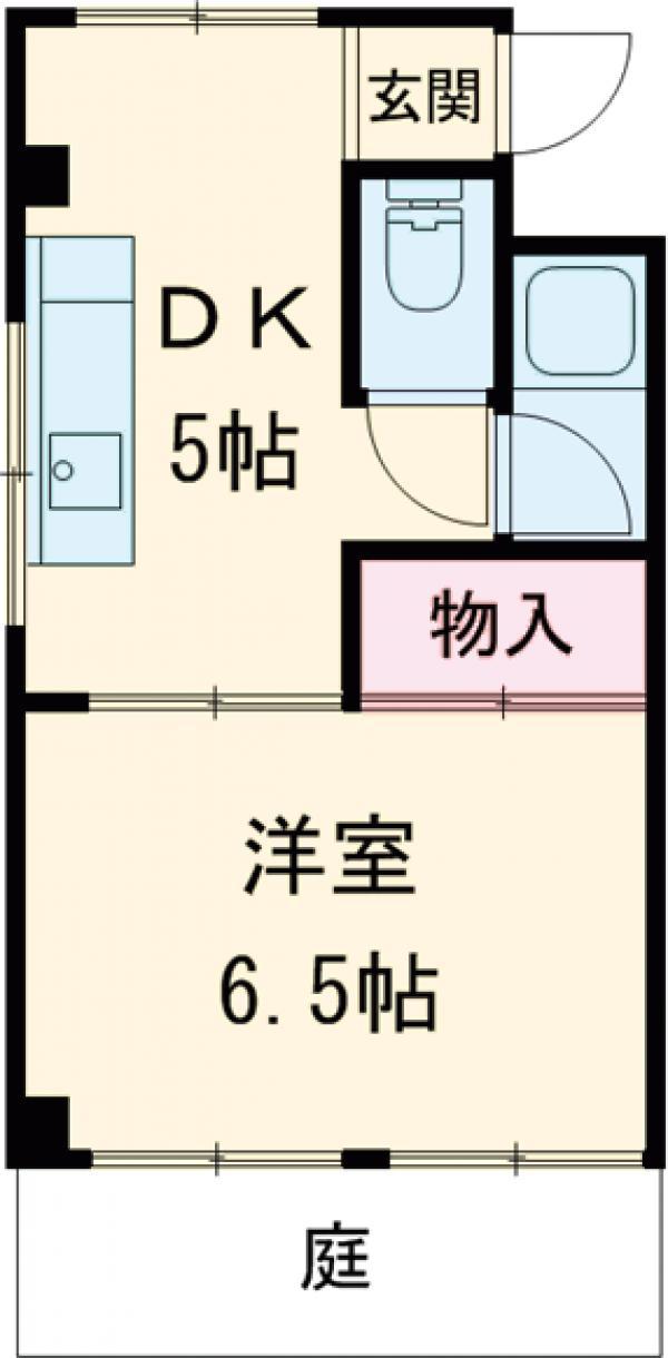 コーセーマンション・102号室の間取り