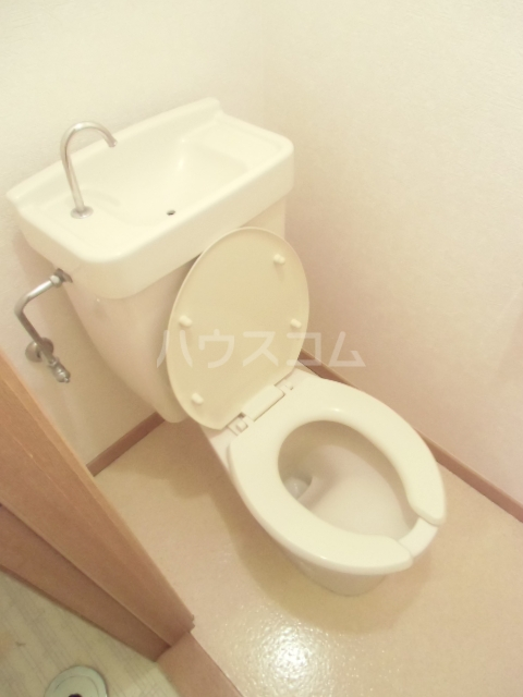 ヴィラウェルストーン 306号室のトイレ