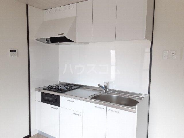 エバーグリーン嵐山 201号室のキッチン