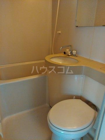 コーポT C-1号室の風呂