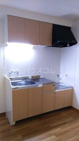 ハイツ若松 201号室のキッチン