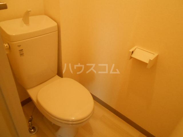 第ニ大泉サンハイツ 202号室のトイレ