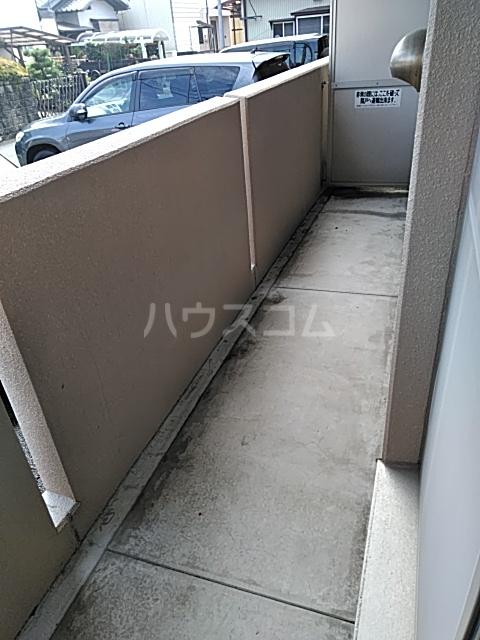 マテール寺田Ⅱ 101号室のバルコニー