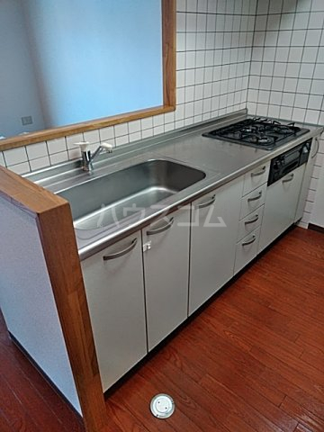 マテール寺田Ⅱ 101号室のキッチン