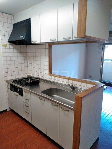 マテール寺田Ⅱ 103号室のキッチン