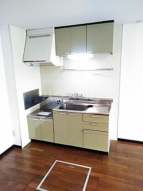 グレース 102号室のキッチン
