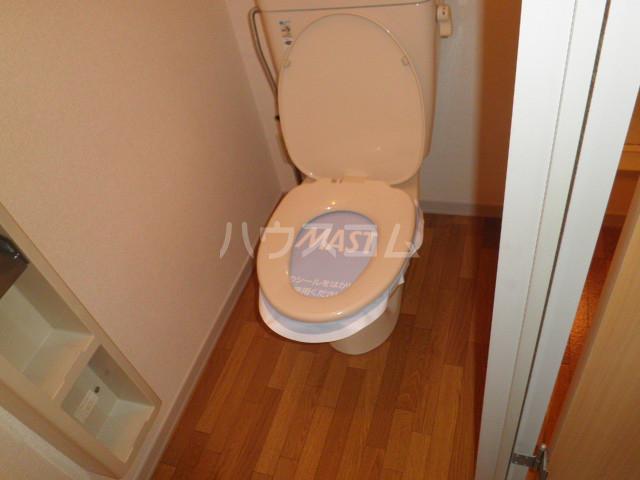 パーミーハイツ 207号室のトイレ