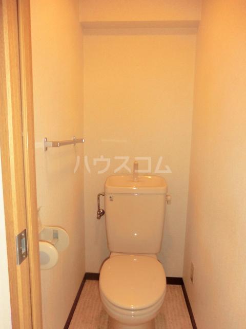 ひまわりコーポ 306号室のトイレ