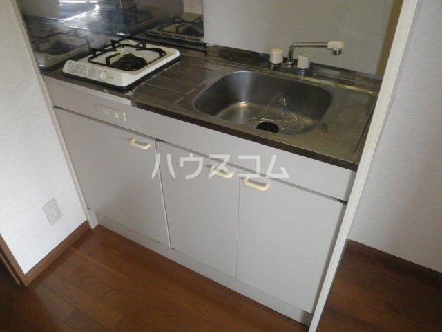 竹成マンション 2E号室のキッチン