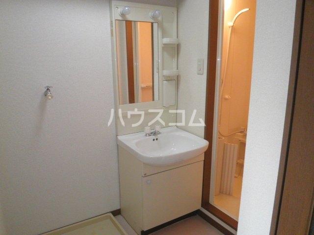 竹成マンション 2E号室の洗面所