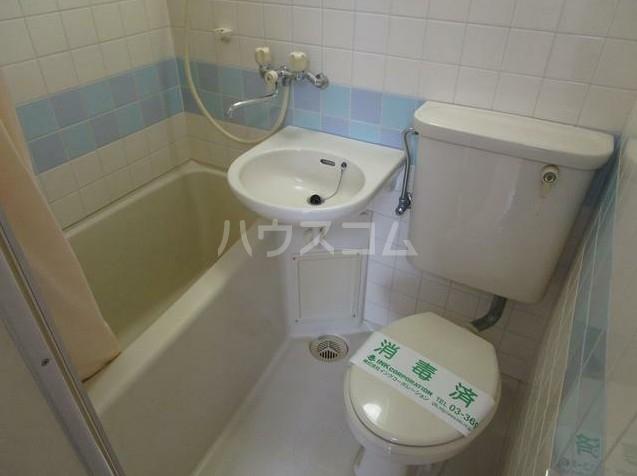 アーバンホーム洗足池 303号室のトイレ