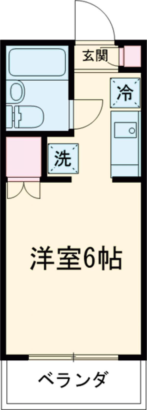 コーポMIZUNO 103号室の間取り