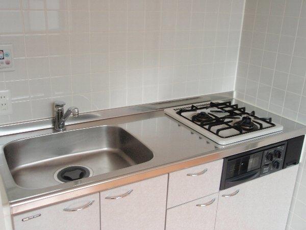 ウエストビレッジ 101号室のキッチン