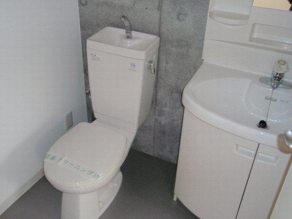 ウエストビレッジ 101号室の洗面所