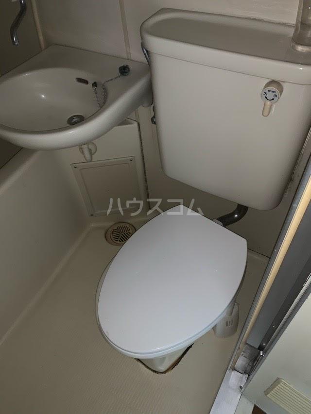 スルガアーバンビレッジ 801号室のトイレ