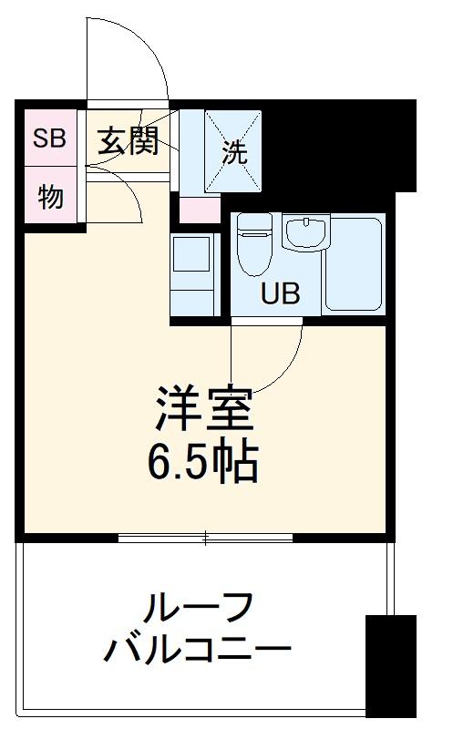ライオンズマンション川崎第12・702号室の間取り