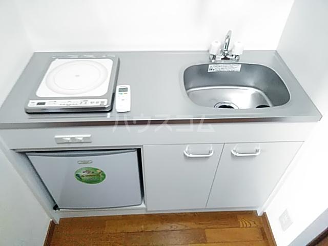 グランデ御池 401号室のキッチン