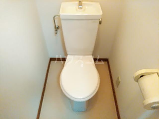 グランデ御池 401号室のトイレ