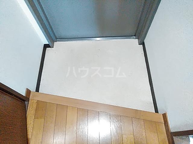 グランデ御池 401号室の玄関