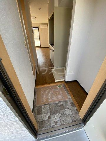 アネックス若松 201号室の玄関