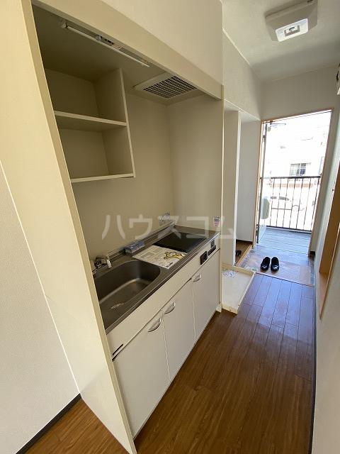 アネックス若松 201号室のキッチン