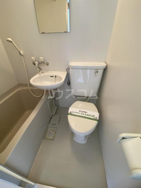 アネックス若松 201号室のトイレ