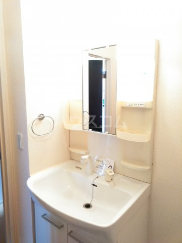 ベルサージュ A 201号室の洗面所
