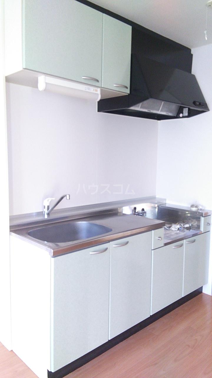 コンフォート熊谷 203号室のキッチン