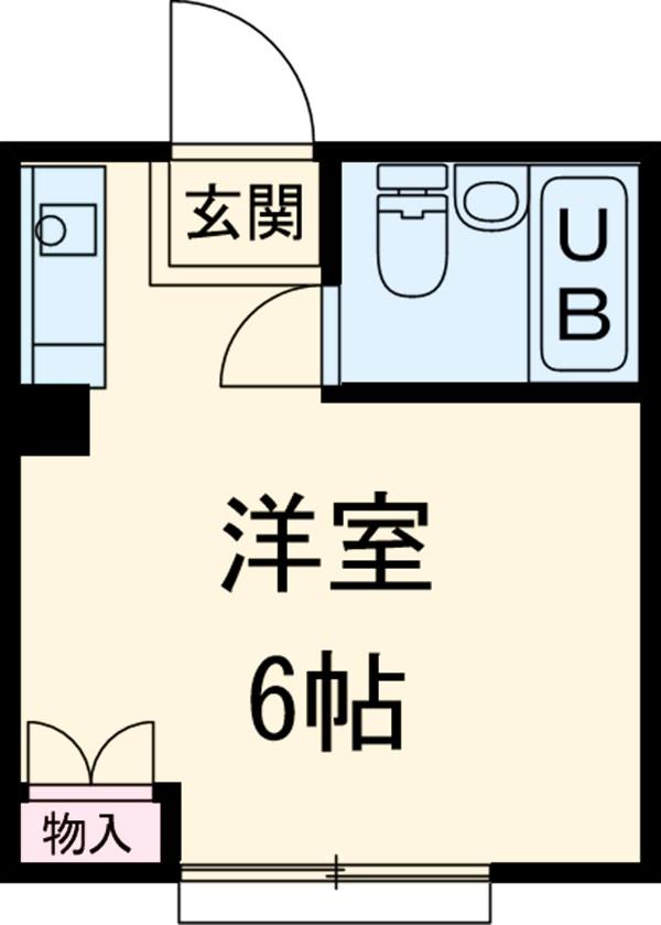シティハイム清雅ムサシノ・103号室の間取り
