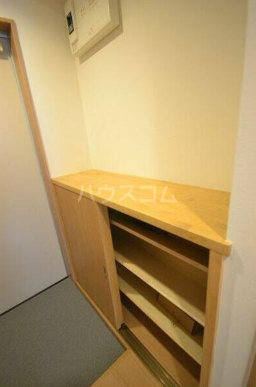 KIYOMISOU 202号室の玄関