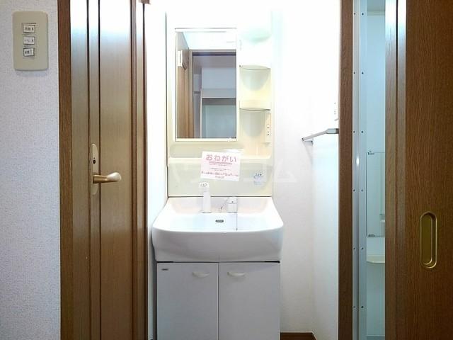 スヴニ-ルⅡ 04010号室の洗面所