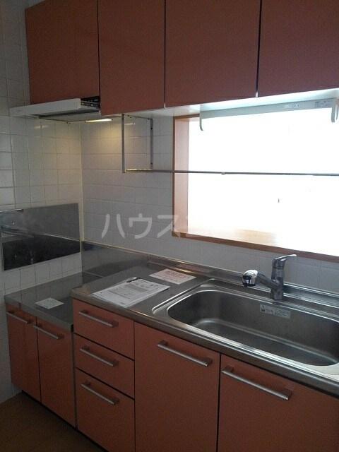 フラン ドミール 02030号室のキッチン