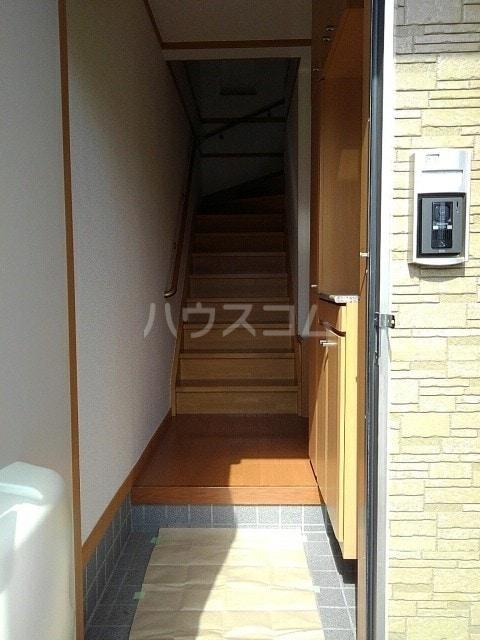 フラン ドミール 02030号室の玄関