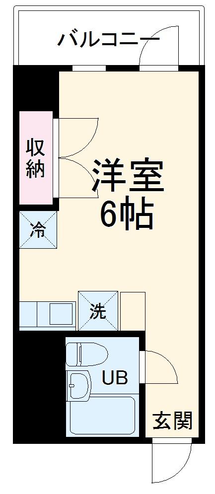 グリーンピア富岡Ⅱ・2107号室の間取り