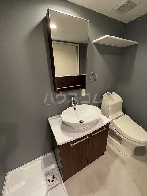 コンフォート津金 203号室の洗面所