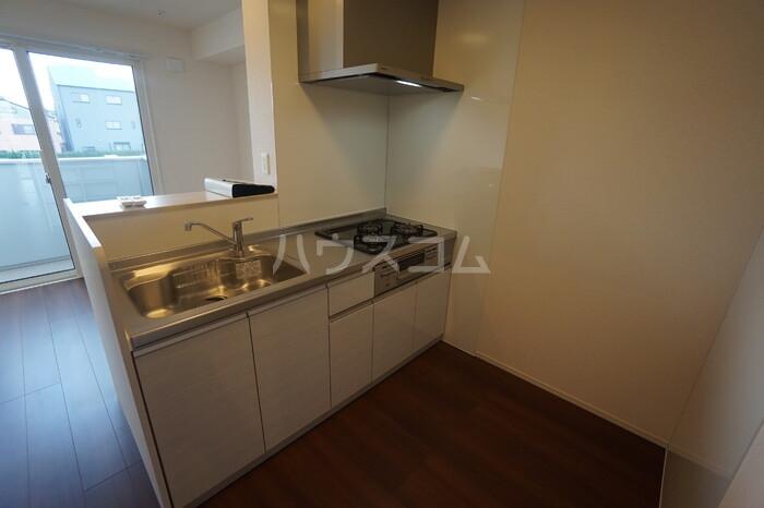 CERCATORE 206号室のキッチン