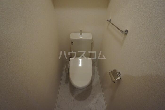 CERCATORE 206号室のトイレ