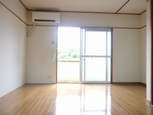 第二唐沢コーポ 201号室のリビング