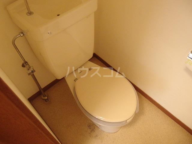 第二唐沢コーポ 201号室のトイレ