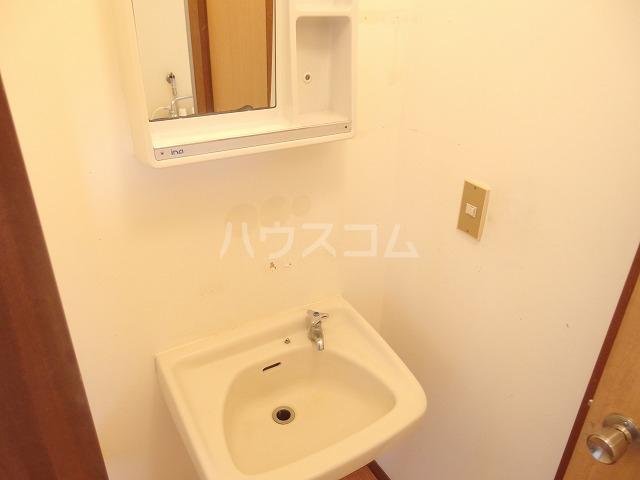 第二唐沢コーポ 201号室の洗面所